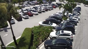 parking lot security camera installation WPB